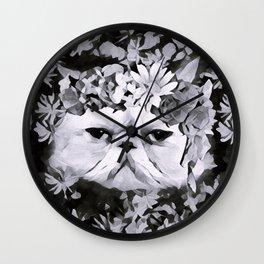 Lord Aries Cat - Art 003B Wall Clock