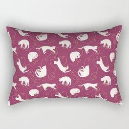Pattern of cute cats Rectangular Pillow