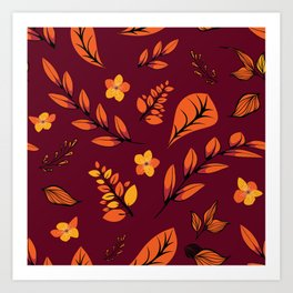 Flower Design Series 22 Art Print