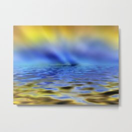 Sailing to the End of the Earth Metal Print
