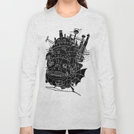 Howl's moving castle. Long Sleeve T-shirt