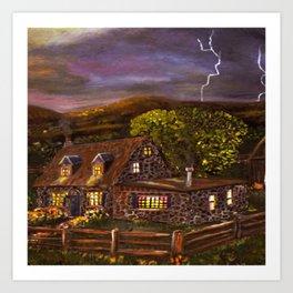 "Ave Hurley ""Camp Verde"" Art Print"