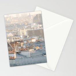 Paris Rooftops Stationery Cards