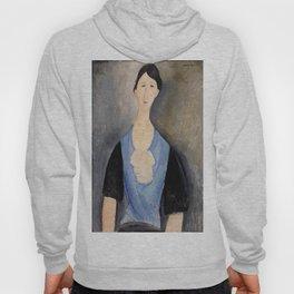 "Amedeo Modigliani ""Young Woman in Blue"" Hoody"
