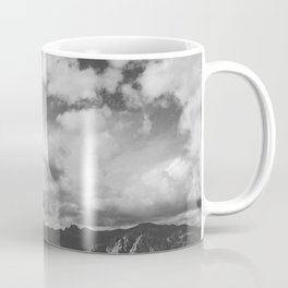 Red Rock Canyon, Las Vegas, Nevada. Mountain Black and White Photograph Coffee Mug