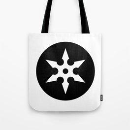 Ninja Shuriken Ideology Tote Bag