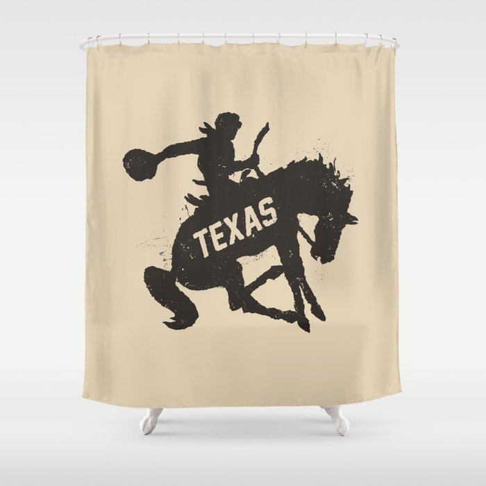 Texas Cowboy Shower Curtain