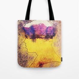Golden Field Tote Bag