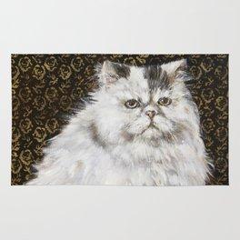 White Persian Rug