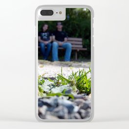 All Is Family Clear iPhone Case