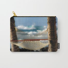 Hammock at the Ocean Carry-All Pouch