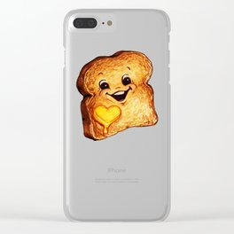 Toast Clear iPhone Case