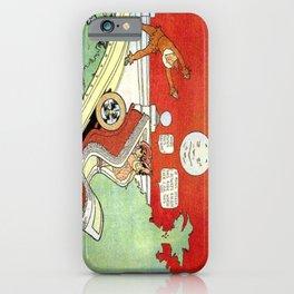 Little Nemo's moonlight ride iPhone Case