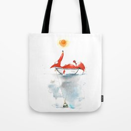 Moment mal. Tote Bag