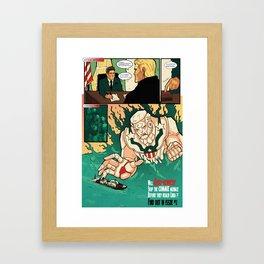 R0bo-Kennedy v. The Commie Menace  Framed Art Print