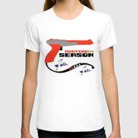 hunting T-shirts featuring Hunting Season by AngoldArts