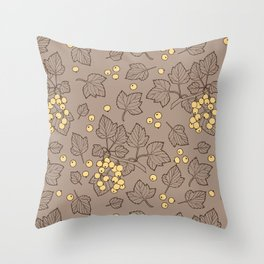 Currant Throw Pillow