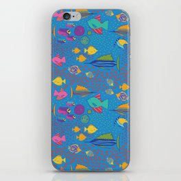 School's Out Fish in the Sea iPhone Skin