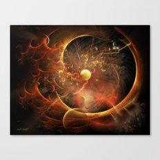 Born in the Vortex ~ The New Machine Canvas Print