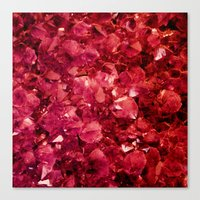 ruby Canvas Prints featuring Ruby by Lotus Effects