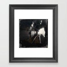 Black and White San Francisco Doboce Tunnel Framed Art Print