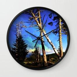 Grayson Highland Pines Wall Clock