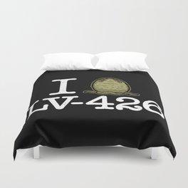 I Love LV-426 Duvet Cover