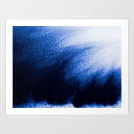 Indefinite Blue Art Print