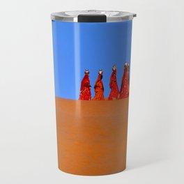 Women Carrying Water in Rajasthan Travel Mug