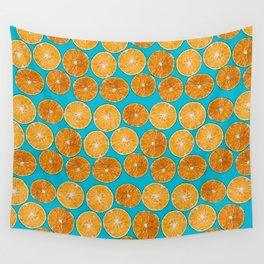 Orange slice Wall Tapestry