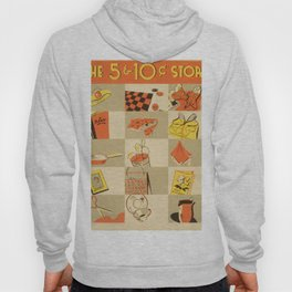 Vintage poster - Five and Dime Hoody