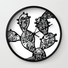 39. El Nopal Wall Clock