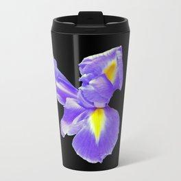Blue Flag Iris Travel Mug