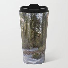 Winter along the Brook Travel Mug