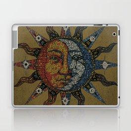 Vintage Celestial Mosaic Sun & Moon Laptop & iPad Skin