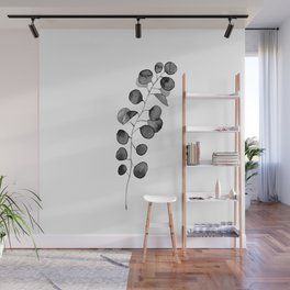 Watercolor Eucalyptus Wall Mural