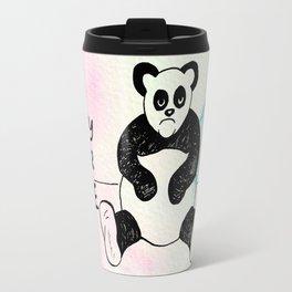 Angry Panda Travel Mug