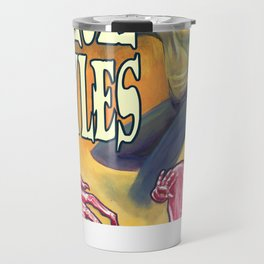 """Girl-Goyles"" Movie Poster Travel Mug"