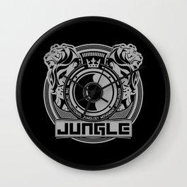 King Of The Jungle - Junglist Movement Worldwide Wall Clock