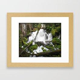 Clear Creek Falls Framed Art Print