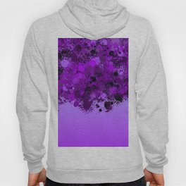 paint splatter on gradient pattern dp Hoody