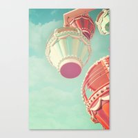 carnival Canvas Prints featuring Carnival  by Scarlett Ella
