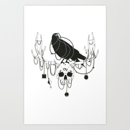 The Old One Art Print