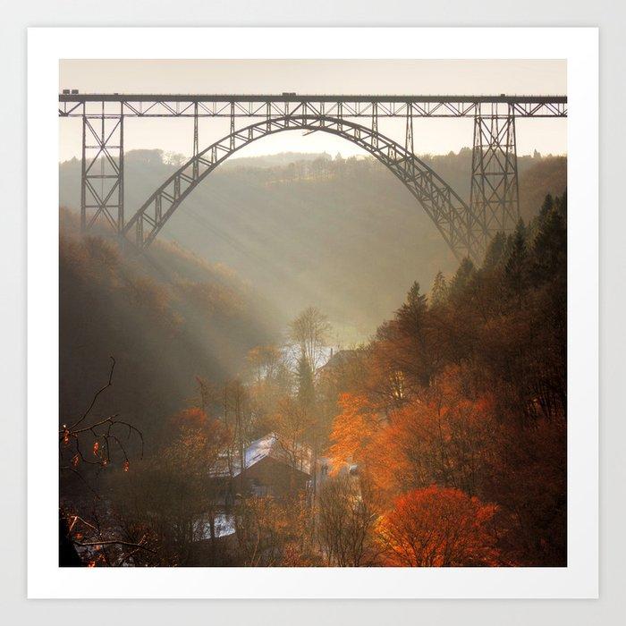 valley of light Art Print