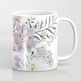 succulent watercolor 8 Coffee Mug