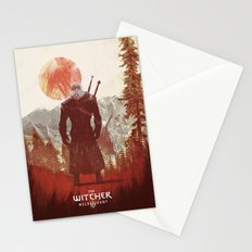 Witcher 3 wild hunt  Stationery Cards