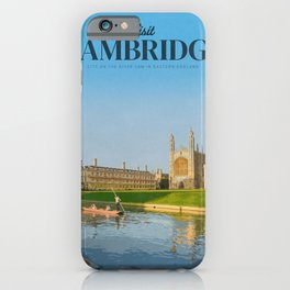 Visit Cambridge iPhone Case