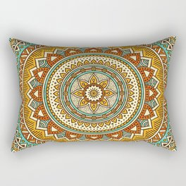 Hippie Mandala 10 Rectangular Pillow