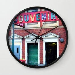 Retro Carnival in the City Wall Clock