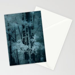 MOONSHADOW FOREST BLUES Stationery Cards